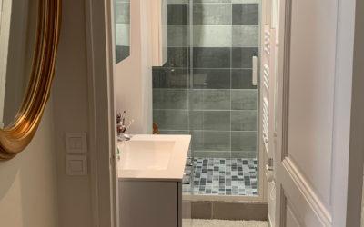 Rénovation intégrale d'une salle de bains d'un immeuble haussmannien dans le 15e arrondissement de Paris