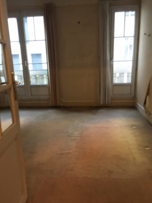 Rénovation appartement séjour Paris 16e