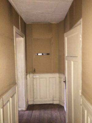 Rénovation appartement entrée Paris 4e
