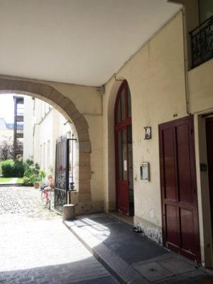 Rénovation immeuble parties communes Paris 4e
