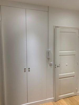 Rénovation appartement entrée Paris 16e