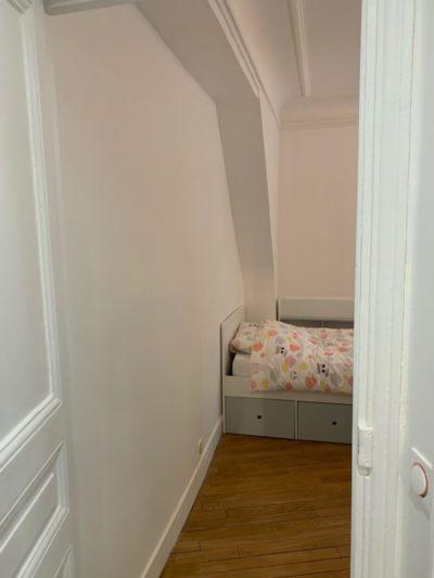 Rénovation appartement chambre Paris 11e