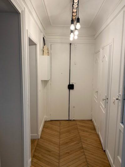 Rénovation appartement entrée Paris 11e