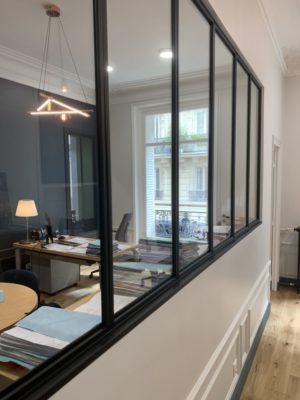 Rénovation bureaux Paris 17e