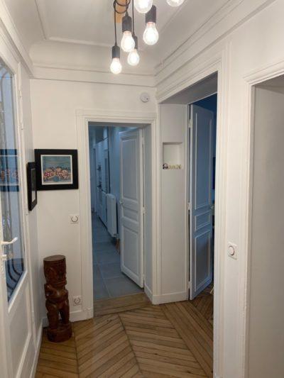 Rénovation appartement couloir Paris 11e