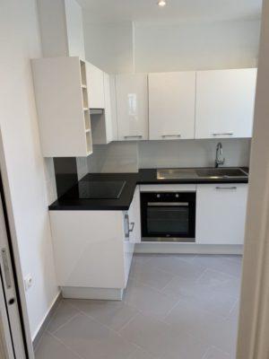 Rénovation appartement cuisine Paris 4e