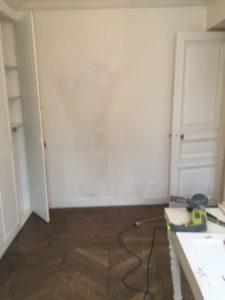 Rénovation appartement chambre Paris 4e
