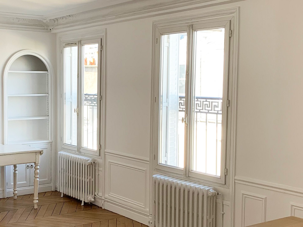 Rénovation immobilière des huisseries, fenêtres et portes