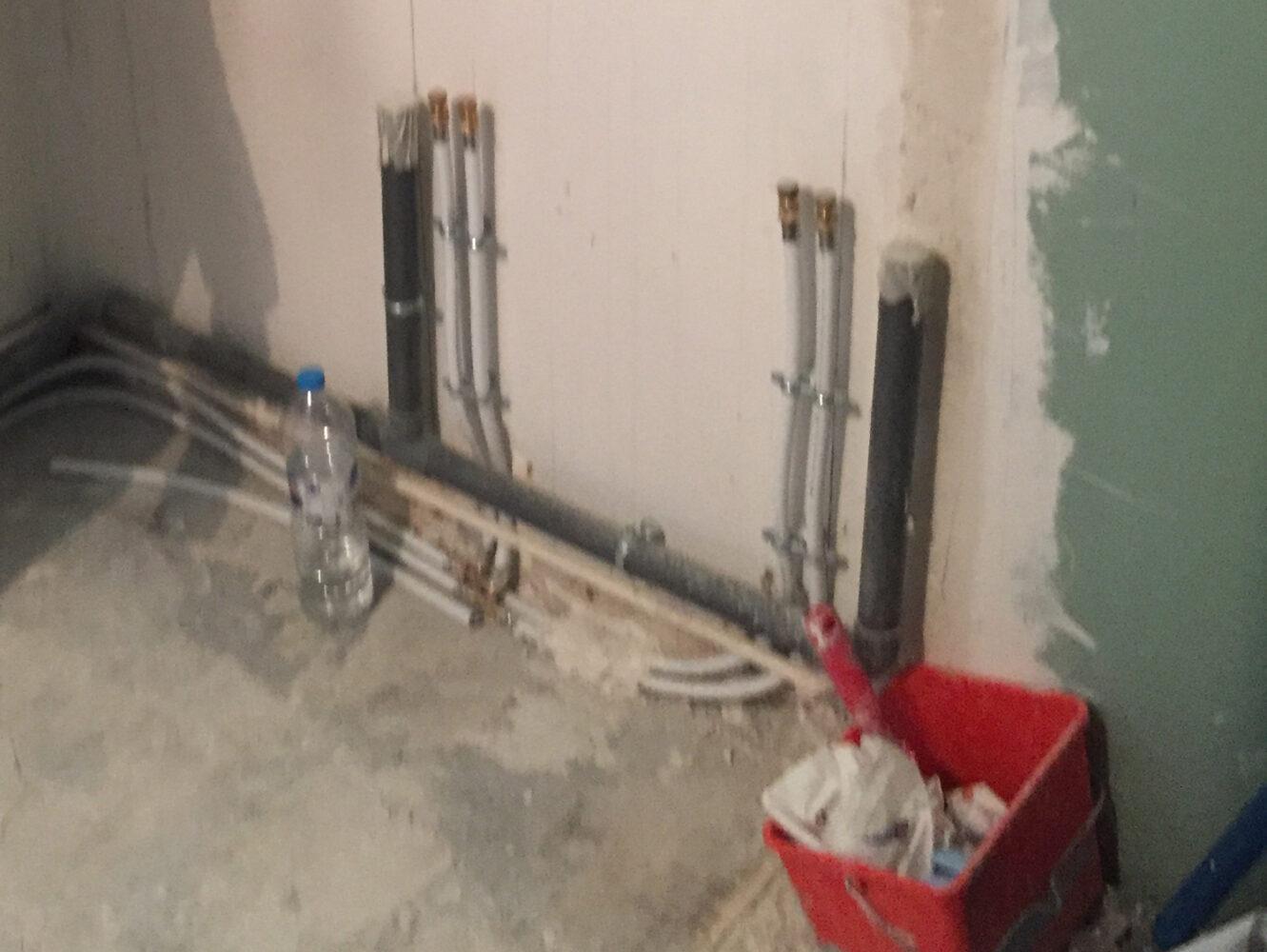 Travaux de rénovation plomberie