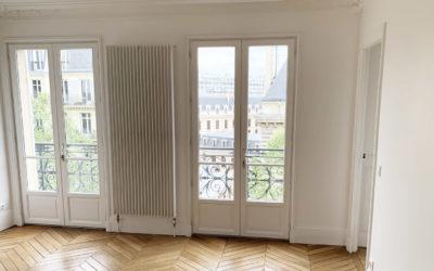 Rénovation intégrale d'un appartement d'un immeuble Haussmannien dans le 4e arrondissement de Paris