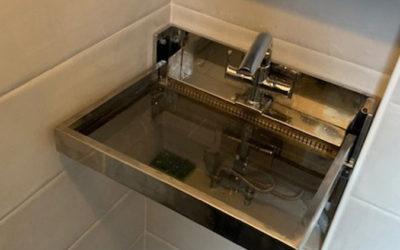 Rénovation d'une très petite salle de bains dans le 11e arrondissement de Paris
