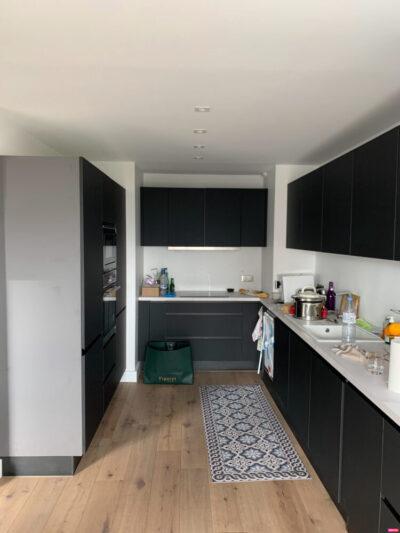 Travaux de rénovation intégrale et réagencement complet d'un appartement de 88 m2 à Courbevoie 92400