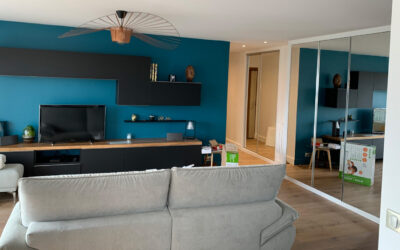 Travaux de rénovation intégrale et réagencement complet d'un appartement de 88 m² à Courbevoie (92400)