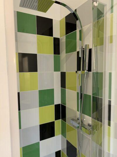 après - douche - Travaux de rénovation d'une studette - Paris-75004