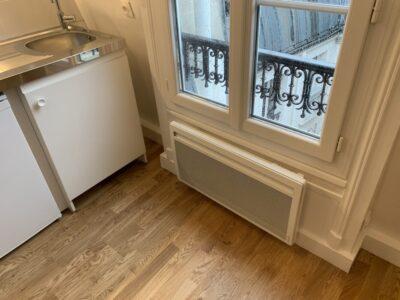 après - Travaux de rénovation d'une studette - Paris-75004
