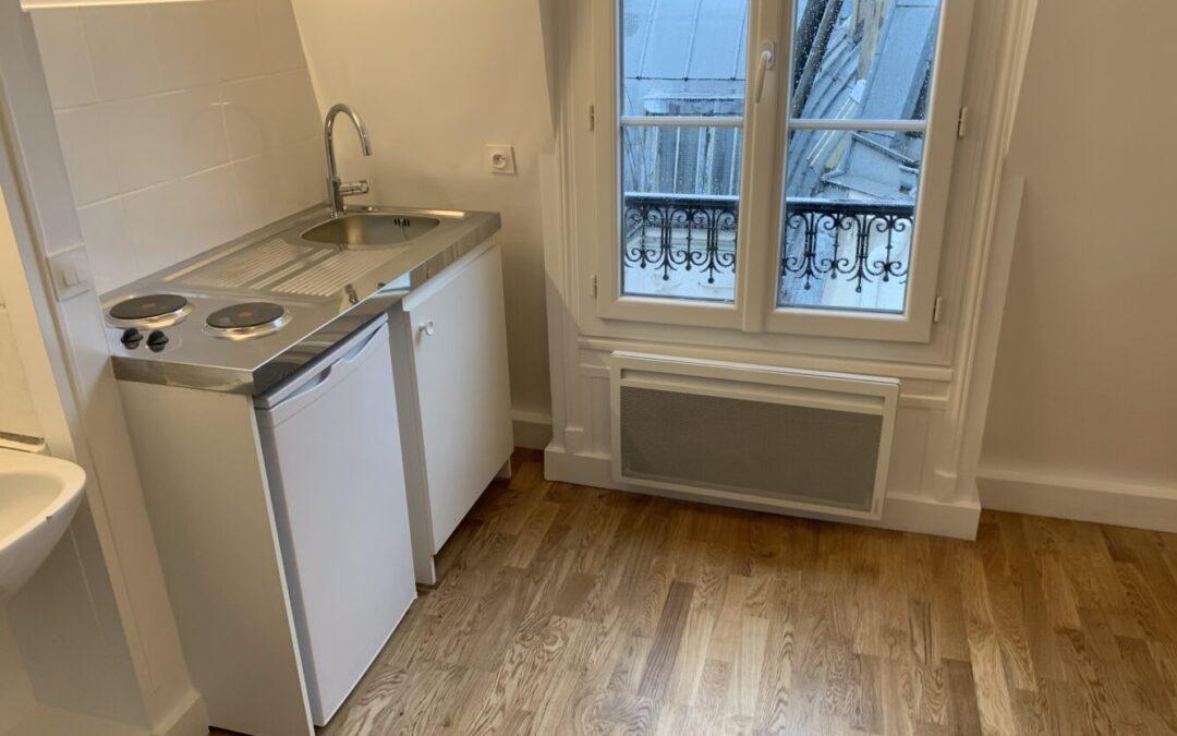 Travaux de rénovation d'une studette - Paris-75004