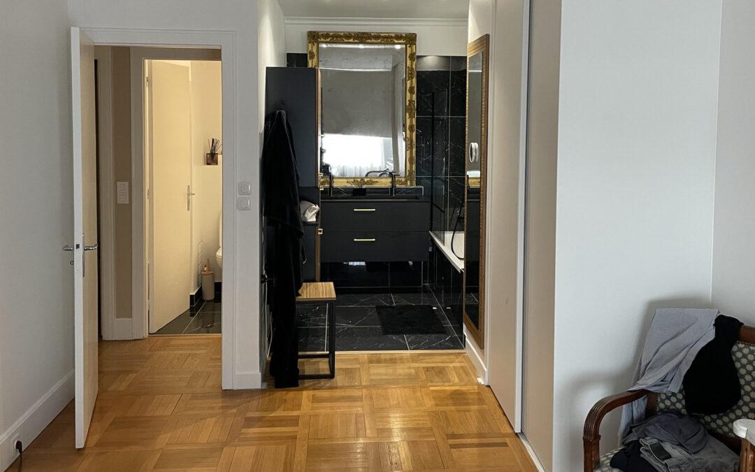 Travaux de rénovation chambre et salle de bain - Paris-75016